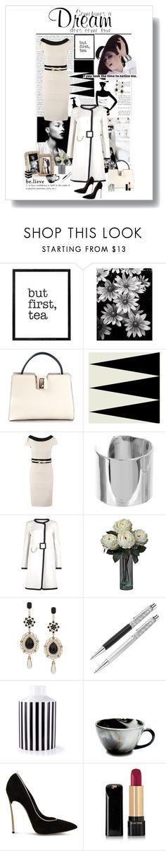 """""""What are your Dreams for 2015!!!!"""" by prettynposh2 ❤ liked on Polyvore featuring Ultimate, WALL, Mike Cable, Serapian, Paper Dolls, Amber Sceats, Paule Ka, Dorothy Perkins, Casadei and Lancôme"""
