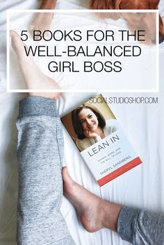 We all love #girlboss and the great read that it was - but in order to be a well-balanced girl boss you've got to expand beyond just business books. See our top five books that will reach every corner of your boss lifestyle and help you grow as a person.