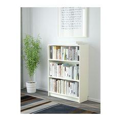 LIATORP Boekenkast, wit - Liatorp, Kroonlijst en Stabiliteit