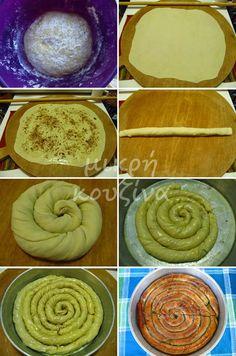 Εδώ και καιρό γνώρισα την Αργυρή. Έψαχνε να αγοράσει το βιβλίο μου με τα λικέρ και από τότε μιλάμε συχνά, γιατί έχουμε ίδια ενδιαφέροντα. ... Greek Sweets, Greek Desserts, Greek Recipes, Cyprus Food, Pie Tops, Sweet Pie, Cookies, Ethnic Recipes, Blog