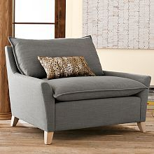 Bliss Down-Filled Sofa and chair| west elm
