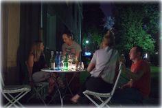 Wine night in Warsaw