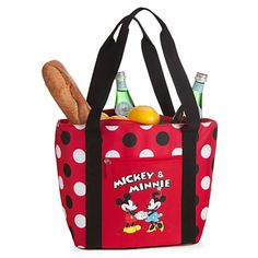 ADORABLE! Mickey and Minnie Mouse Cooler Tote  #GetOutside