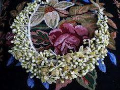 couronne de fleurs d'oranger cire, france 1900's