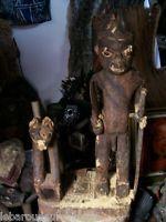 ancienne statue relique Bafum necropole  african art premier primitif++++