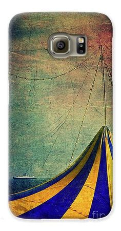 Circus With Distant Ships II Galaxy S6 Case #phonecase #galaxy #surreal #circus #sea
