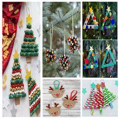Bonitas manualidades de Navidad fáciles de hacer para niños Advent Calendar, Crafts For Kids, Holiday Decor, Ideas, Blog, Kid Art, World, Toddler Christmas Crafts, Christmas Activities