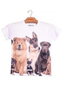 Comprar Camiseta Infantil Unissex Cães