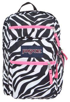 Mochila Jansport Big Student Zebra