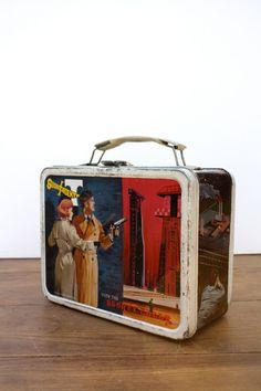 Vintage 1968 Secret AGENT  Lunch Box