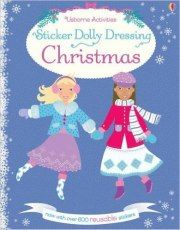 Sticker Dolly Dressing Christmas - Teachlearnlanguages