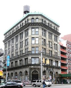 The 1898 Germania Bank Building. Bowery & Spring St. NYC. Now the residence of photographer Jay Maisel