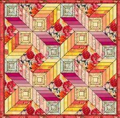 3D looking quilt
