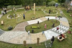 A sensory garden, links to good list of plants