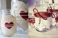 DIY, decorar la casa con los botes de cristal de las conservas