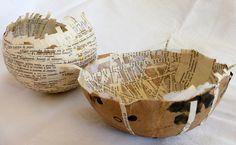 'bowls with broken Spanish' -by Ines Seidel, via Flickr