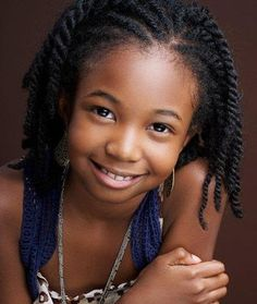Try Some Cute Hairstyles for Kids with Natural Hair Hair Style Guide Hairstyle Ideas Photos Natural Hairstyles For Kids, Natural Hair Styles For Black Women, Little Girl Hairstyles, Twist Hairstyles, Black Hairstyles, Children Hairstyles, Natural Styles, Natural Hair Twists, Pelo Natural
