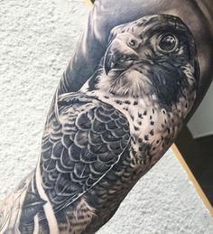 Great Falcon Tattoo