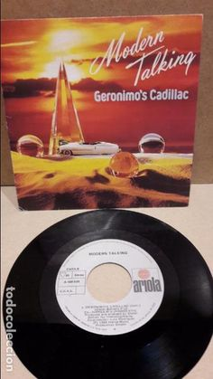 MODERN TALKING.GERONIMO'S CADILLAC. SINGLE / ARIOLA - 1986 / MBC. ***/***