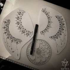 TATTOOS BY BINT | Four #sideboob mandala designs all available....