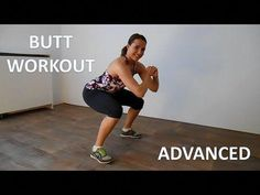 10 Minute Advanced Buttocks Workout – Butt Lifting and Thigh Toning Workout - Leggings Are Pants Buttocks Workout, Bum Workout, Thigh Toning Exercises, Toning Workouts, Toned Legs Workout, Squats And Lunges, Sup Yoga, Best Cardio, Low Impact Workout