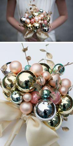 Bouquet invernal navideño en Ideas de como planificar, organizar y decorar bodas y enlaces
