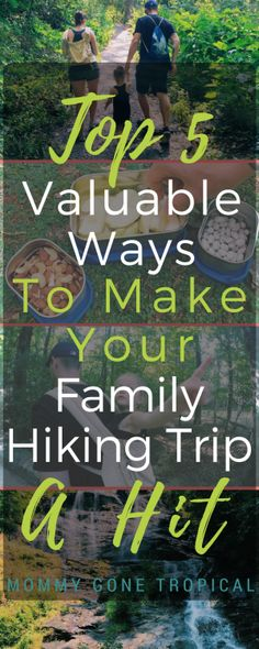 If you have a young kid, you know how unpredictable they can be. Make sure you are prepared for all scenarios with this list of 5 valuable ways to make your family hiking trip a hit! The list includes a splash box set, a carrier and more! #ecolunchbox