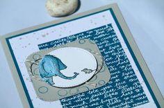 by Keksie: Love you lots, Elefant, Maus, Stampin up, Playful Backgrounds, Karte
