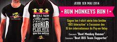 Une équipe de monkeys runners aux 15km internationaux du Puy-en-Velay - IRIS Interactive