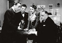 The Maltese Falcon (USA, 1941) Directed by John Huston, Starring Humphrey Bogart, Mary Astor.