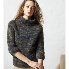 Classic Yoke Sweater PDF