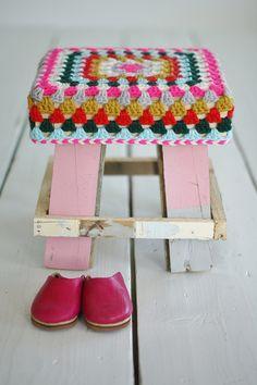 wood & wool xs stool by wood & wool stool, via Flickr