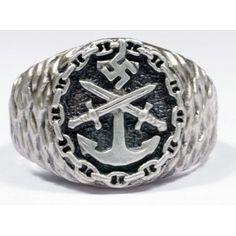 WW II German Kriegsmarine ring.