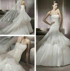 Here comes the Bride : )