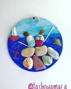 Bu sıcakta balık tuttuk kankimle;şaşırdı herkes... #balık  #balıkçılar #fish #fisherman #sea #seaside #deniz #denizkıyısı #balıktutmak #balıktutmakeyfi #elemeği #elyapımı #hoby #stone #stonepainting #art #rockart #rockpainting  #rengarenk #hobi #stone #art #design #renkleriseviyorum  #onbinsıcakkalp #handmade #taşdünyası #taşlar #cute #maviyedairhersey #kankam  #kankamlaben