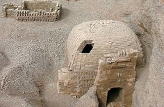 """Tombs with mythical carvings found in Chinese city that was once along the Silk Road. """"The research team found ten dome-shaped tombs in the cemetery, seven of which were large and made out of brick and adorned with what they are describing as mythical carvings of animals that represented among other things, the four seasons and creatures with heavenly connections."""""""