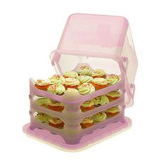 Lovin' this pretty pink cupcake carrier ... Hint hint any family members out there in pinland :)