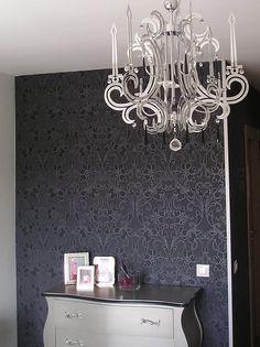 Lámpara ideal para combinar con deco en negro
