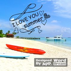 word,dream,summer,sea,sky,holiday