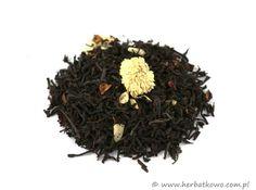 Herbata czarna Truskawki z Kremem | www.herbatkowo.com.pl