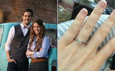 """Jill Duggar and Derick Dillard's March 29, 2014 proposal was pretty much the cutest thing ever, since they met on Skype while he was on a mission trip in Nepal and Jill was in Arkansas (even calling it """"love at first Skype"""")."""