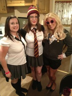 harry potter costume group fancy dress luna lovegood costume school girl costume