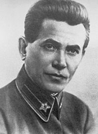 "Nikolai Ivanovich Yezhov or Ezhov  (May 1, 1895 – February 4, 1940) was the senior figure in the NKVD (the Soviet secret police) under Joseph Stalin during the period of the Great Purge. His reign is sometimes known as the ""Yezhovshchina"", ""the Yezhov era"", a term that began to be used during the de-Stalinization campaign of the 1950s. During the beginning of World War II his status within the USSR became that of a political unperson."