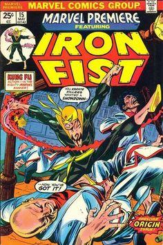 Iron Fist - Marvel Premiere #15 Comic Book Cover