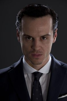 My villain looks kinda like this. And yes, my villain's name is Moriarty. I couldn't resist. ;)