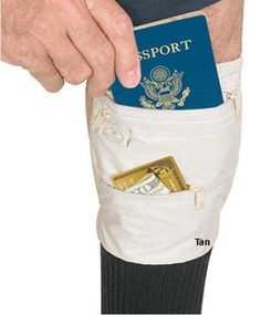 Got my mind on my money and my money in my leg? Yea nobody's gonna expect that. #Eagle #Creek Travel Gear Deluxe Security #Belt http://amzn.to/Hr6Rce