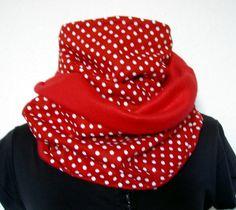 Bunter SchlauchSchal Tuch  Loop Punkte Dots von Zellmann Fashion auf DaWanda.com