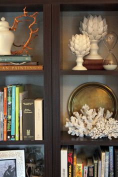 A Thoughtful Place: Five Ways to Style Bookcases