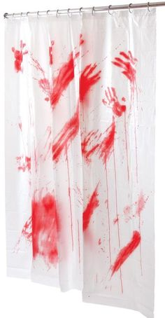 Bloody Shower Curtain awesome , creative , fun and personal gift - gifts