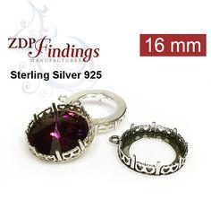 Jewelry Making Kits 18x13mm Rose Gold Adjustable Ring Setting W/crystal Rhinestone Fit Swarovski4120 Clear-Cut Texture